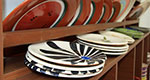 Ceramic dishes made at the pottery wheel by Giannis Apostolidis